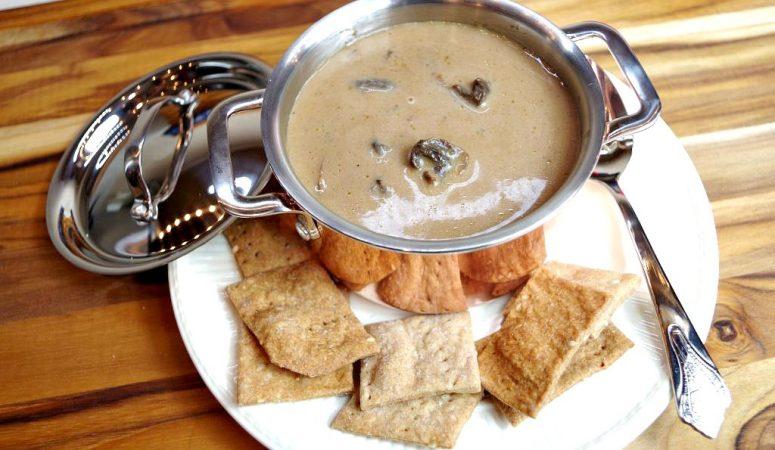 Instant Pot Mushroom Bisque