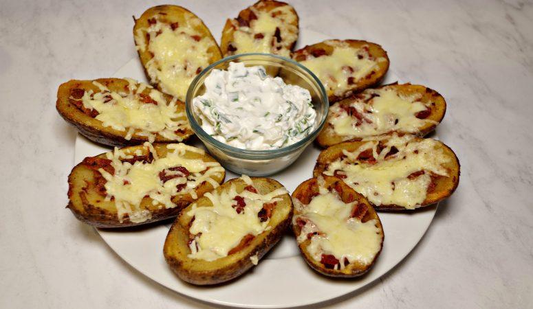 Instant Pot & Deep Fried Potato Skins