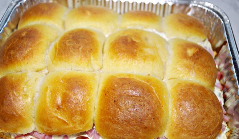 King Arthur Flour's Cheesy Brioche Rolls